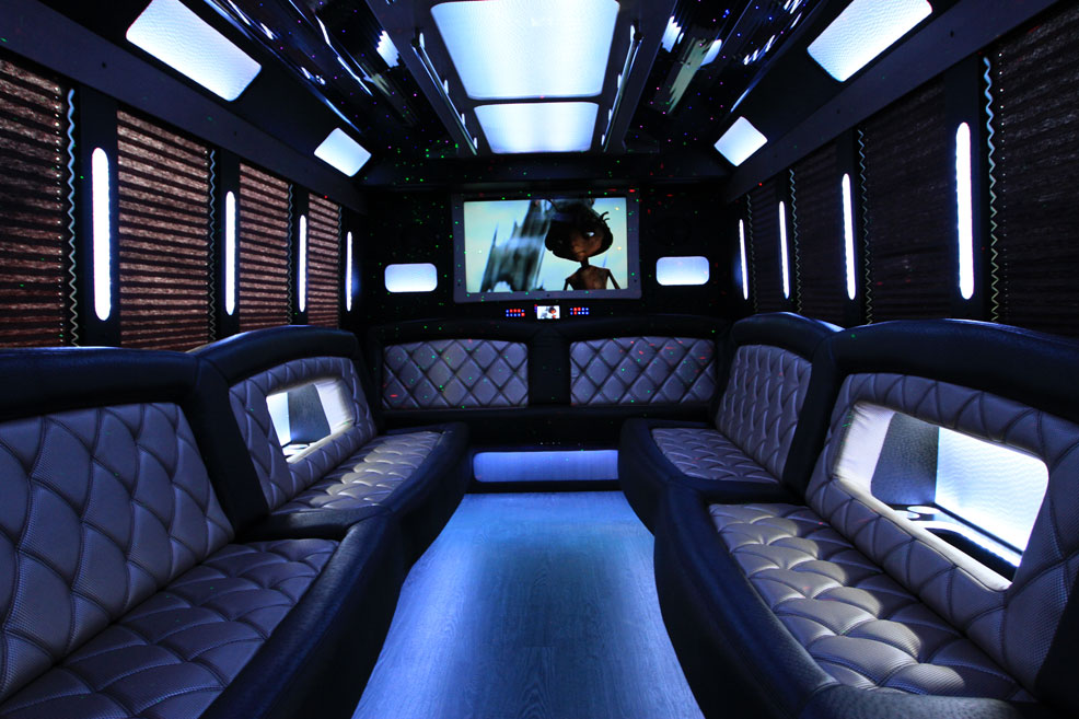 Black limo interior9
