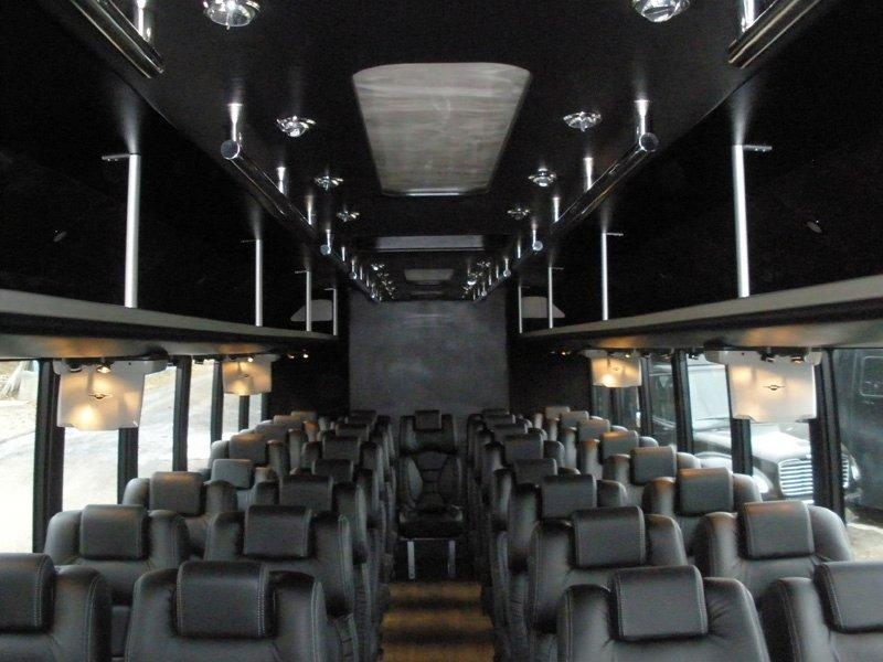 Royal carriages limo interior2