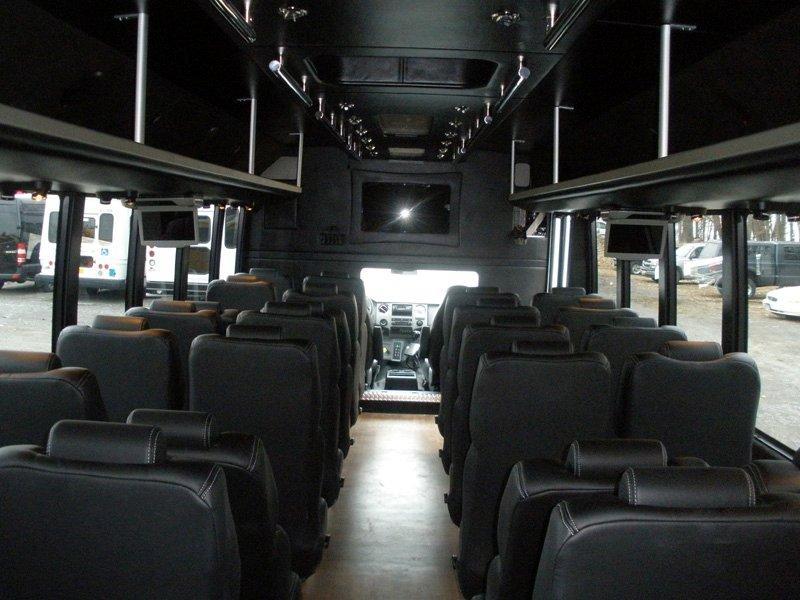 Royal carriages limo interior